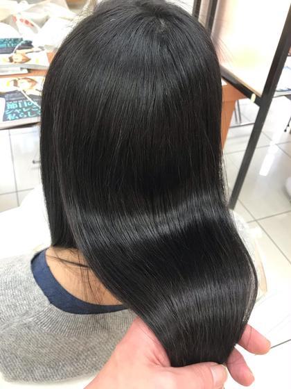 🎇これはすごい‼️話題の髪質改善トリートメント  前髪カット+アシッドシェーパー💥🔥🌈