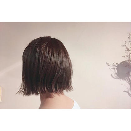 カット+Aujuaシャンプー+ブロー