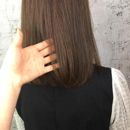 【髪質改善💫ミディアム】カット&縮毛矯正&oggi ottoトリートメント