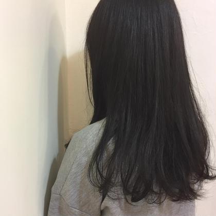 初めてのカラーはアッシュにほんのりピンクバイオレット☺︎♡  e's所属・岩井美樹のスタイル
