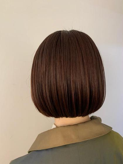 女性、ミニモ限定❗️お手入れ簡単、毛先の納まりバッチリボブスタイル限定クーポン‼️