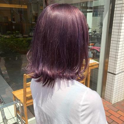 Wカラー+色持ちUPトリートメント
