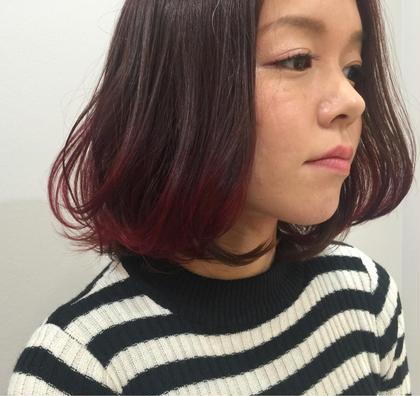 チェリーグラデーション♪ Lico HAIR&RELAXATION 一宮店所属・加納省吾のスタイル