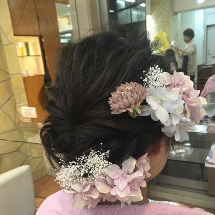 >> アレンジ hair frais make所属・梅宮那月のスタイル