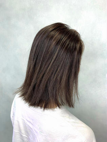2行程バレイヤージュorWカラー&髪質改善オージュアトリートメント