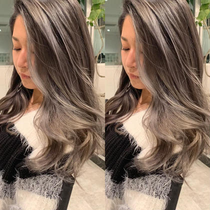 新規のみ⭐️流行最先端⭐️エアタッチバレイヤージュ⭐️ケアブリーチ、髪質改善トリートメント付き✨