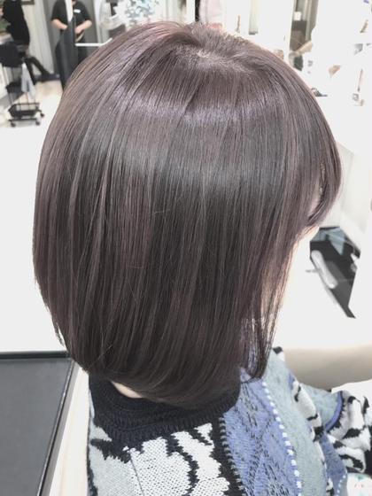 【オーダー3位🥉髪質改善✖︎外人風イルミナカラー】イルミナカラー+カット+プチ髪質改善