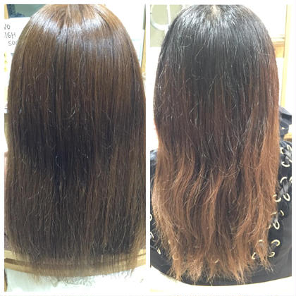 ブリーチ毛とバージン毛を カラー剤だけで最大限に明るく 日本人特有の赤味を消した マット系のお色に☺️☺️ BarrettebyNeolive所属・勝野優佳のスタイル