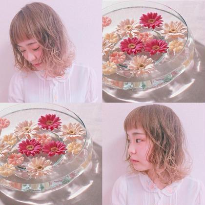 田中楓のヘアアレンジ