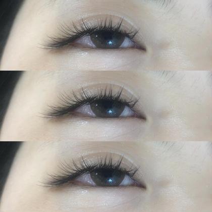 dark brown  お任せ eyelash です♪