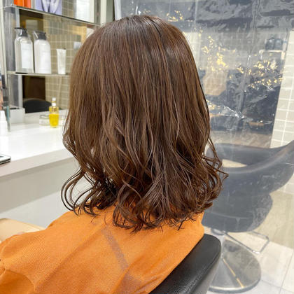 💕当日予約限定💕💓前髪カット&透明感カラー✨サラサラトリートメント 炭酸スパ付き✨🥺