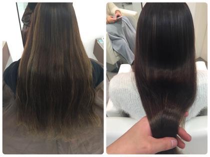 #イルミナカラー #8トーン #ノートリートメント #髪質改善  Primum G2所属・やざわけんたのスタイル