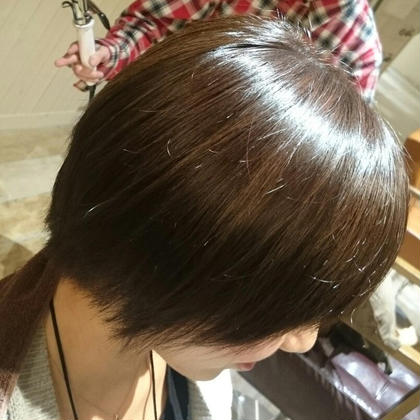 《オーガニック白髪染め使用🌟》似合わせカット+オーガニック白髪染め【新規3回まで利用可能!!】
