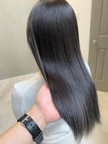 💫🥀1周年記念お得クーポン🥀💫 カット+イルミナフルカラー+美髪TR🧚🏻