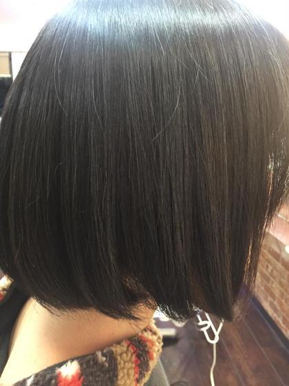 酸熱美髪カラー(CMC マレイン酸)  サイエンスアクアトリートメントカラー   (グリオキシル酸+ジカルボン酸+等他)