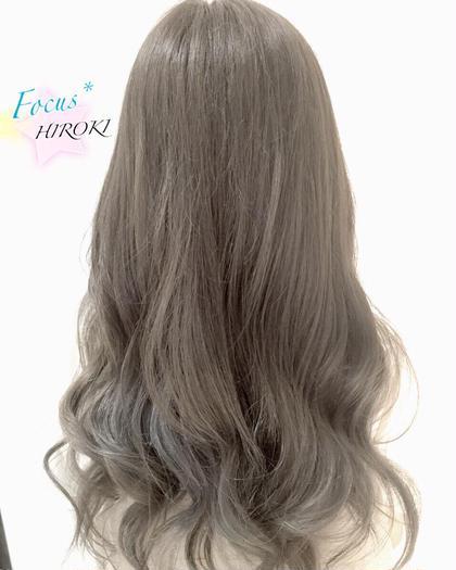 シルバーグレイジュグラデーション Hair&MakeNOISM-elua-所属・村上宏樹のフォト