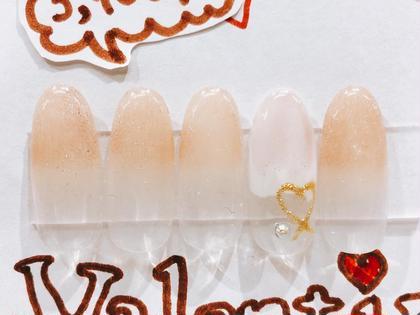 ネイル バレンタインNail☆デザイン1☆色変更可能♪