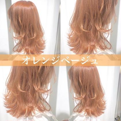 🧁♡ケアブリーチ込み♡🧁トリプルカラー+髪質改善トリートメント💖ダメージを抑えながらもあなたのなりたいカラーに💖
