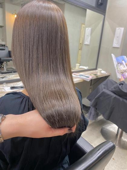 【🌟最先端高級オイルカラー】イノアカラー+髪質改善カット+TOKIOトリートメント
