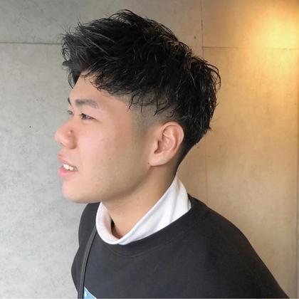 メンズカット & 束感パーマ & 炭酸ヘッドスパ¥11000→¥6930