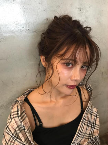 ⭐️⭐️⭐️ hair arrange ⭐️⭐️⭐️ salon de milk 原宿店所属・大川美桜のスタイル
