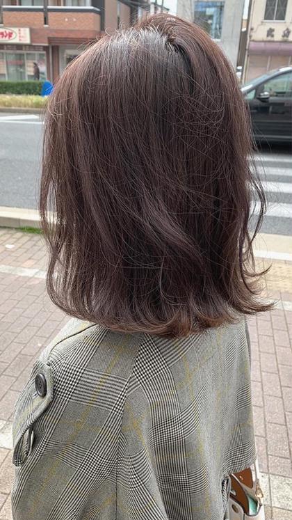✨《発色+艶+柔》カット+イルミナカラー+トリートメント ¥9900✨