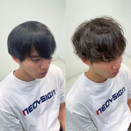 ✨🎄クリスマス限定クーポン🎄✨🔥イメチェンフルコース🔥💈似合わせ小顔カット+韓国風カラー🇰🇷+イメチェンパーマ+髪質改善4STEPトリートメント🌿