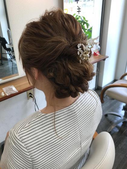 ✨結婚式✨お祭り✨お呼ばれヘア✨ヘアアレンジ&セット