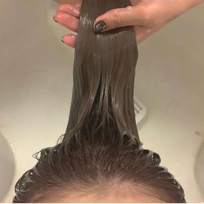 前髪カット+オージュアトリートメント+選べる髪質改善シャンプー