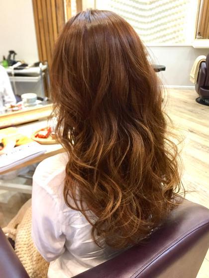 ダメージレス美髪ダブルカラー(ブリーチ1回+カラー)SB込