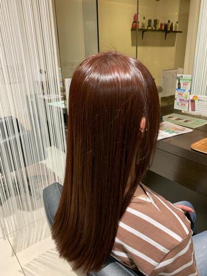 🌟艶髪持続🌟似合わせカット+オーダーメイドカラー+高保湿トリートメント5500