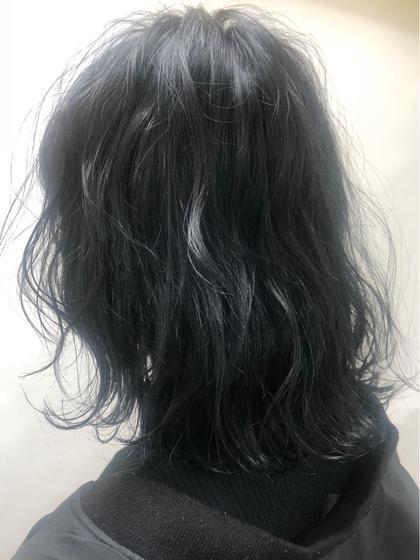 ブルーブラック 黒髪