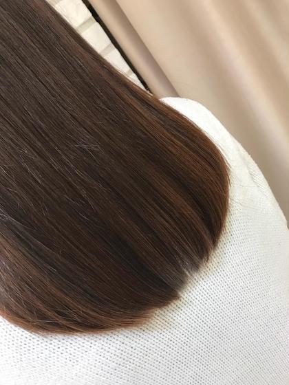 印象が変わる ♡ 前髪縮毛矯正 + プチギフト付