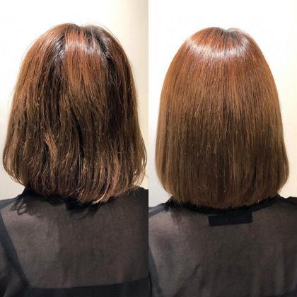 新メニュー登場✨傷まないストレート⁉️ストリートメント&髪質改善グロスアップトリートメント
