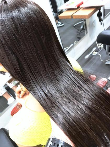 ダメージヘアにオススメ✨髪質改善ケラチン補強トリートメント+カット❣️