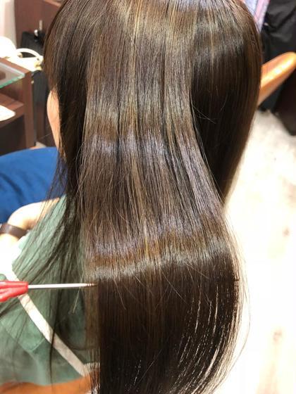 【🙆♀️何度でもOK🙆♀️】カット+髪の毛復元✨煌水+オーガニックカラー