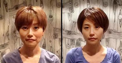 小顔の施術を3ヶ月(約6〜8回)続けるとこのぐらい変わります♫ 5ive Spice所属・5iveSpiceのスタイル