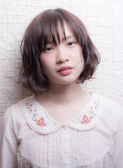 ☆ボブ×パーマ☆ HIAR CREATE CLEAR due所属・安藤大陸のスタイル
