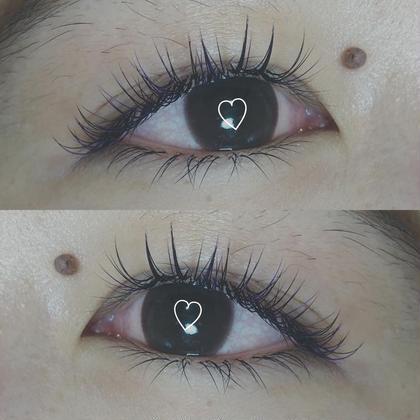 お客様eye 🐩❤︎ dark brown × purple  Pointでpurpleをいれてます 最近colour mix人気です☺︎ NeoliveGINZA所属・taniuchiramuのフォト