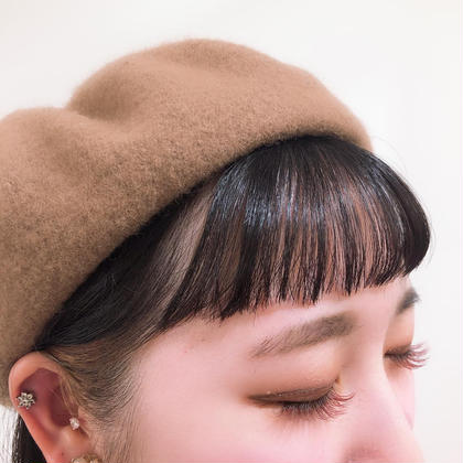 ❤️【印象変わる🖤】前髪カット