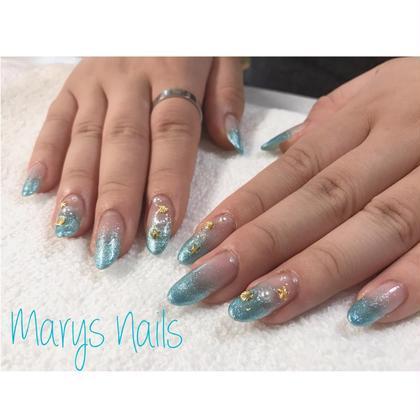 グラデーション パーツ20個まで   3000円 Marys Nails...*所属・MarysNails...*のフォト