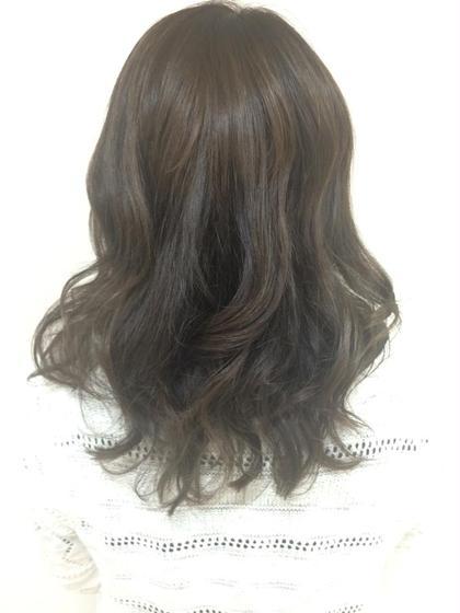 サマーカラー  グレージュ♥ LiNA Beauty Garden所属・加藤美果のスタイル