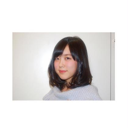キュートなミディアムスタイル signum所属・松尾京香のスタイル