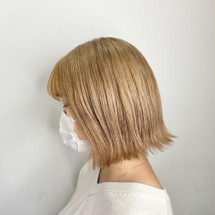 《 憧れる透明感ある髪にしたい》トリプルカラー🌼(ブリーチ2回+カラー) + KウォーターTR