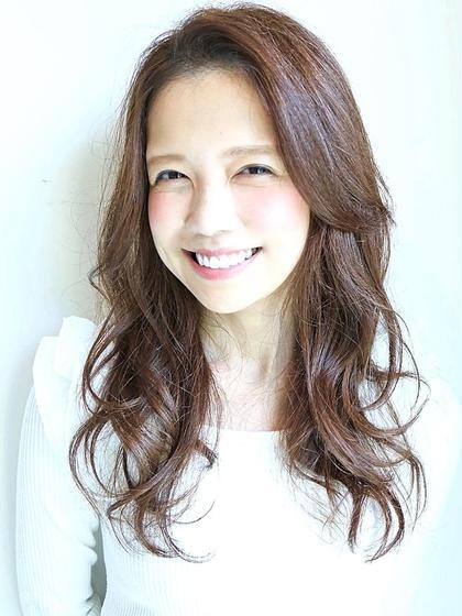 【艶カール★】 カット+コスメパーマ+選べる極上SPA+潤トリートメント ¥9400