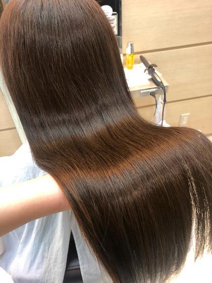 ロング料金なし✨前髪カット+全体カラー+Aujua最上級5stepトリートメント