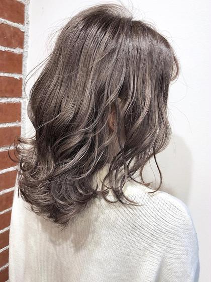 【1日①名限定】イルミナカラー+カット+tokioトリートメント