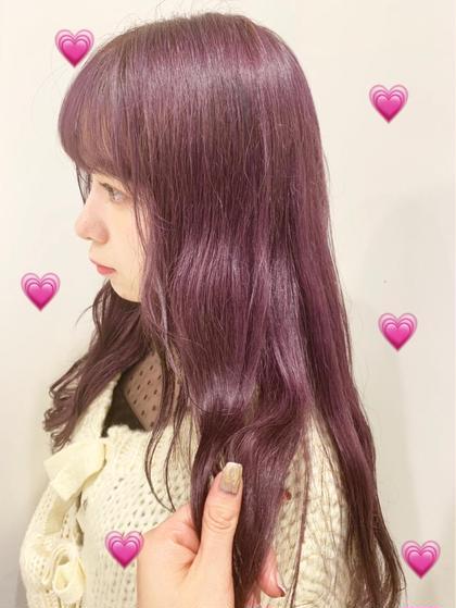 ①期間限定❤️前髪カット&カラー❤️