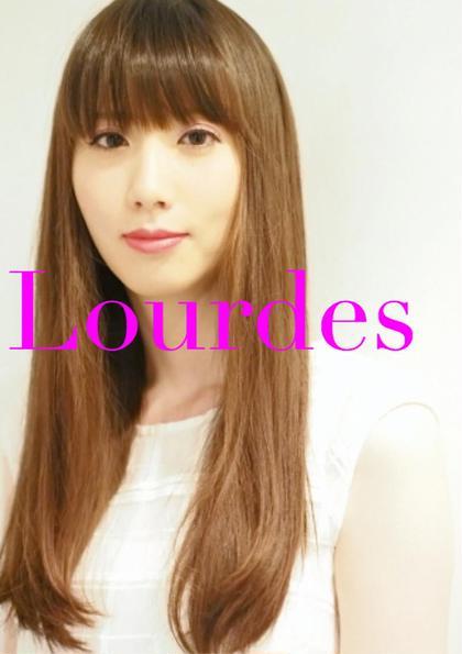 鈴木えみさん風ストレートワンカール Lourdes hair design所属・佐藤勇武のスタイル