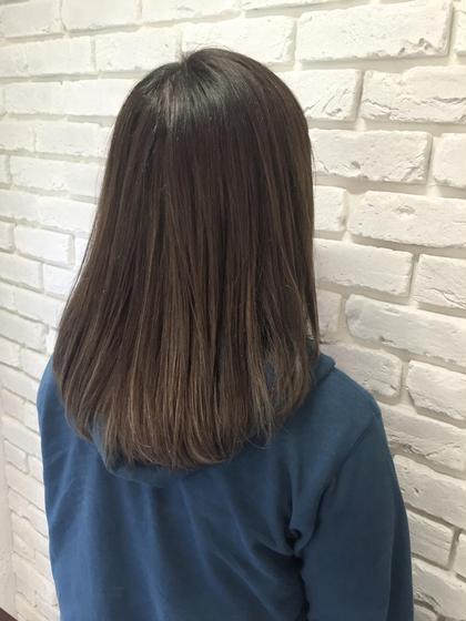 ハイトーングラデーション agir  hair東池袋店所属・後藤章宏のスタイル